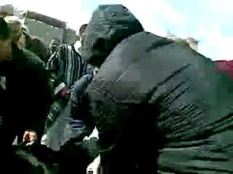 مواجهات سوق الحمعه بعد صلاة الجمعه طرابلس ليبيا