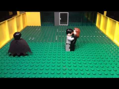 Lego batman and the pussy cat