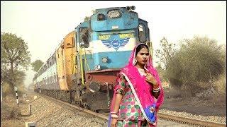 इस खूब सूरत औरत के पति को ट्रेन ड्राइवर व कर्मचारी ने कैसे बचाया ll वायरल विडियो ll 2019