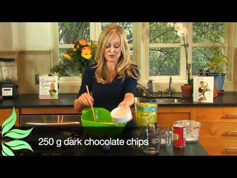 Gorgeously Green: Food : How to make vegan chocolate chip cookies
