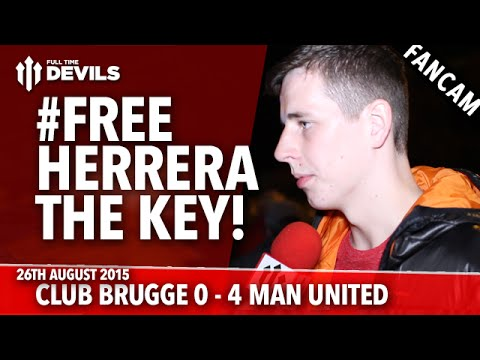 #FreeHerrera The Key! | Club Brugge 0-4 Manchester United | UEFA Champions League
