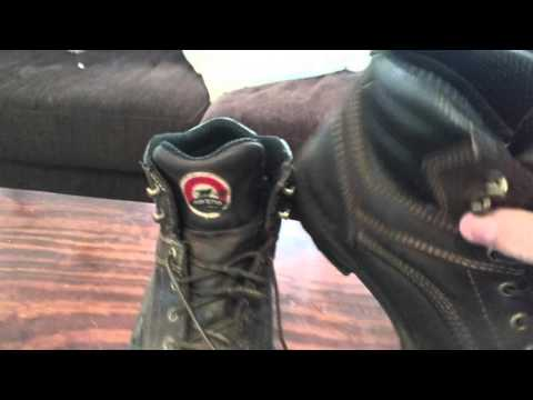 Irish Setter (Red Wing) work boots review