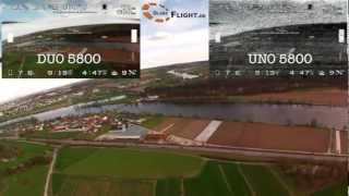 ImmersionRC Uno5800 vs. Duo5800 FPV receiver comparison