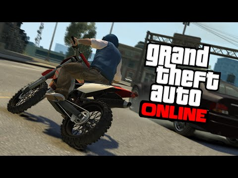 GTA Online: Never Fall Of Motorcycle/BMX Trick! ( GTA Online Tricks)