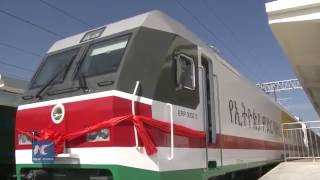Chinese built electric railway to boost trade between Ethiopia and Djibouti