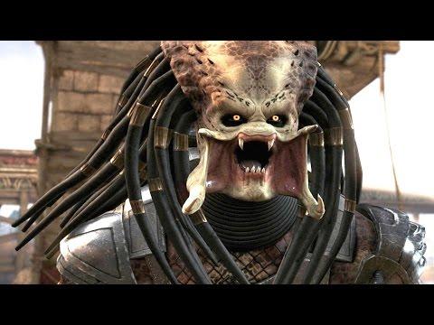 Mortal Kombat X - Predator DLC Klassic Arcade Ladder Gameplay Playthrough