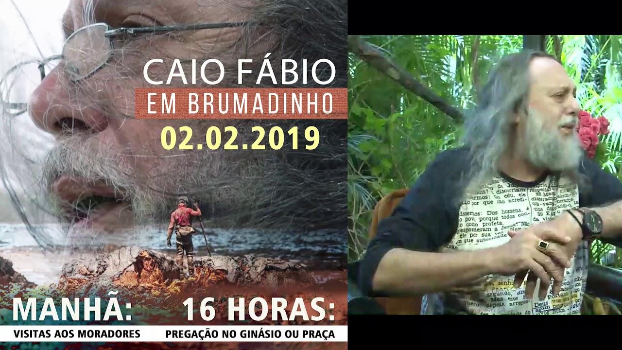 Convite do Caio: Vamos nos encontrar em Brumadinho neste sábado! - 02 de Fevereiro.