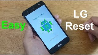 How To Hard Reset LG mobile tracfone (LG Fiesta LTE, LG X Power 2, LG Venture...etc)  - Free & Easy