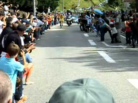 TOUR DE FRANCE CONTRE LA MONTRE ANDY SCHLECK 23/7/11