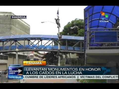 Panama commemorates one century under US influence