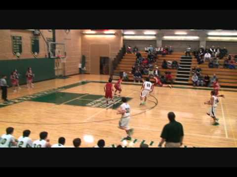 "Auston Evans 6'5"" (Class of '15) - Greenhill School (Addison, Tx) - #23 in white, #23 in green - 11/22/2012"