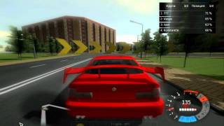 Astana Racer gameplay