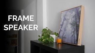 El ALTAVOZ BLUETOOTH más peculiar: probamos el Frame Speaker
