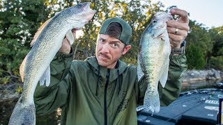 BEST FRESHWATER FISH TO EAT? (Crappie vs Walleye Catch & Cook)