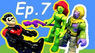 Imaginext Toy Pursuit (Ep 7) - Nightwing Faces the Scarecrow