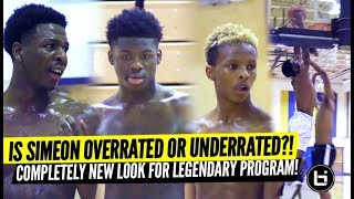 Is Simeon Underrated or Overrated?! King Bynum, Transfers, Underclassmen Shine at Open Gym!