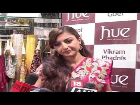 Soha Ali Khan Launches HUE Fashion's New Collection