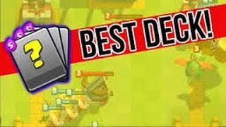 CLASH ROYALE  BEST DECK FOR ARENA 4 (Pekkas Playhouse)