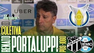 [Série A '19] Coletiva Renato Portaluppi | Pós-jogo Ceará SC 2 X 1 Grêmio FBPA | TV ARTILHEIRO