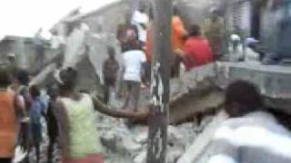 Earthquake In Haiti January 12, 2010 Raw Video