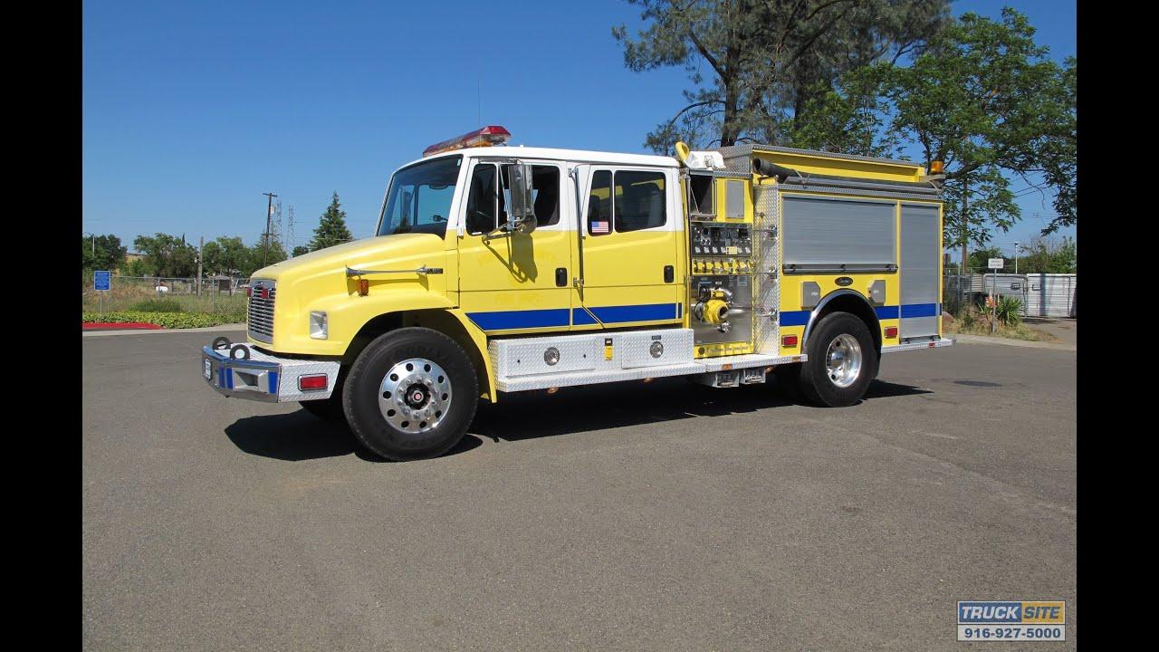 1999 Freightliner Fl80 Luverne Type Ii 750 500 Fire Pumper