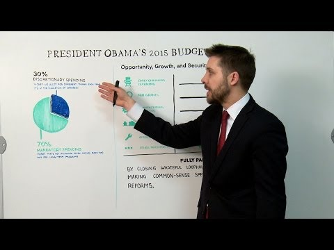 White House White Board: President Obama's 2015 Budget