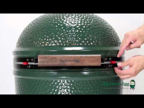 Large Big Green Egg Assembly
