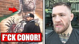 Malignaggi SPITS on Conor McGregor mural; Artem on Conor dominating Paulie in sparring; Brock Lesnar
