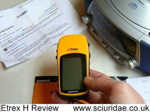 Garmin Etrex H Handheld GPS Sat Nav Review