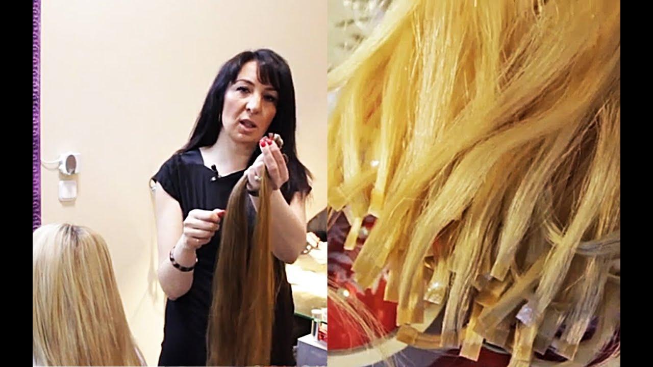 Как самостоятельно сделать ленточное наращивание волос
