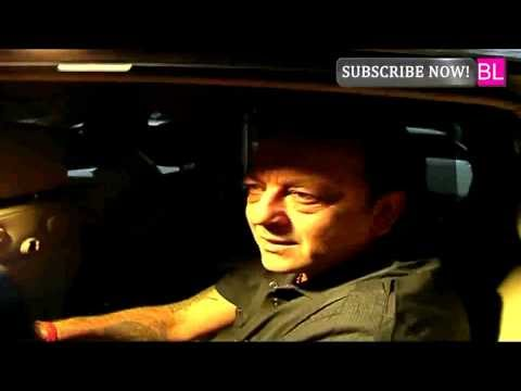 Exclusive Footage - Sanjay Dutt returns to Jail after his Parole