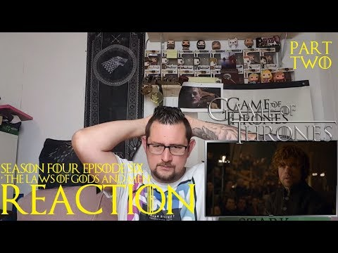 Game of Thrones 4x6 'The Laws of Gods and Men' REACTION CATCHING UP part 2