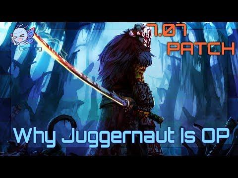 Dota 2 - Why Juggernaut Is OP - 7.07B Dueling Fates Patch