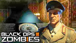 Black Ops 3 Zombies - Samantha is in Der Eisendrache? DLC Moon Easter Egg!