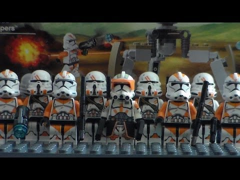 NEW 2014 Lego Star Wars Utapau Troopers 75036 Battle Pack Review!!!!!!!!!!!!