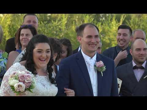 Xénia & Ádám esküvői video