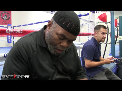 Nazim Richardson on why he is not training Shane Mosley