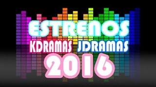 Estrenos doramas 2016-Los mejores doramas!
