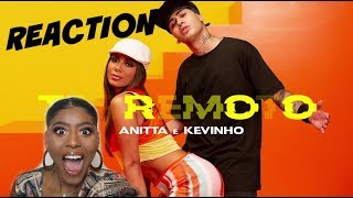 Anitta Kevinho Terremoto Official Music Audio Reaction ReaÇÃo