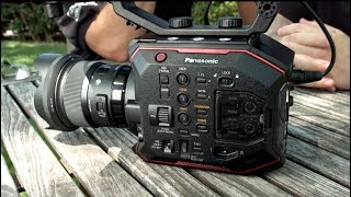 Panasonic AU-EVA1 5.7K Sensor 4K Cinema Camera First Look