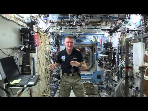Space Station Astronaut Talks to French Media About Life in Orbit