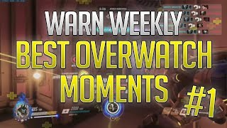 UNBELIEVABLE PRO CONSOLE PLAYERS - Console Overwatch Moments Ep. 1