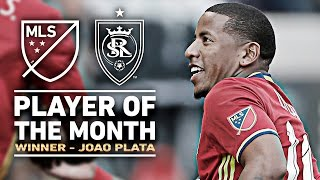 Player of the Month: March 2016 - Joao Plata