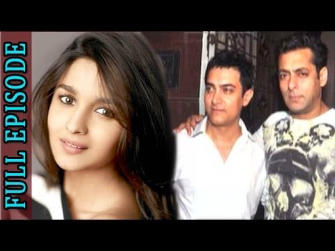 Planet Bollywood News - Aamir Khan Spends The Night With Salman Khan, 2 States Actress Alia Bhatt Mobbed By Fans & More video