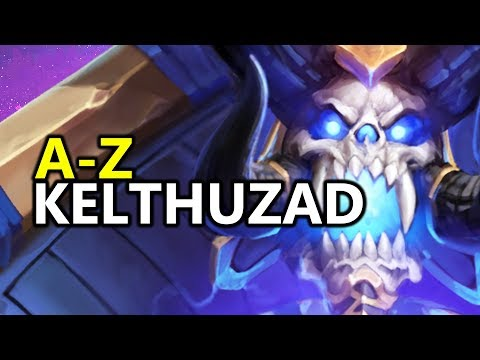 ♥ A - Z Kel'Thuzad - Heroes of the Storm (HotS Gameplay)