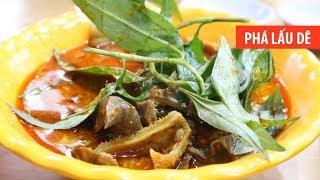 Đi ăn PHÁ LẤU DÊ giá học sinh ở Sài Gòn