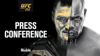UFC 252: Press Conference