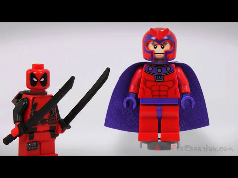 Lego WOLVERINE VS DEADPOOL - Marvel Super Heroes Brick Film