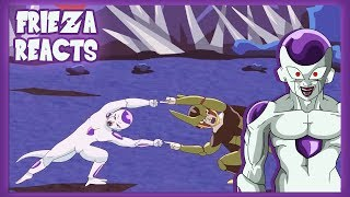 FRIEZA REACTS TO FREECELL - DRAGON FUSIONS!