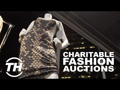 Charitable Fashion Auctions - The Frocktail Party Brought Designer Items and a Great Cause Together